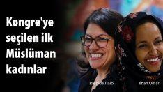 Rashida Tlaib ve Ilhan Omar ABD'de Kongreye giren ilk Müslüman kadınlar oldular