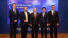 Türkiye'nin ilk canlı 5G deneyimi Turkcell ve Samsung'dan