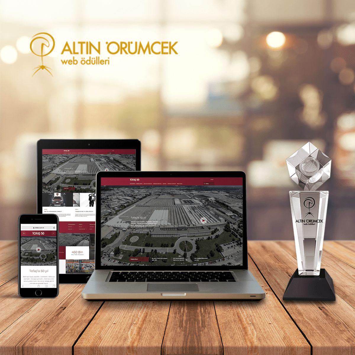 Tofaş'ın Web Sitesine Birincilik Ödülü!