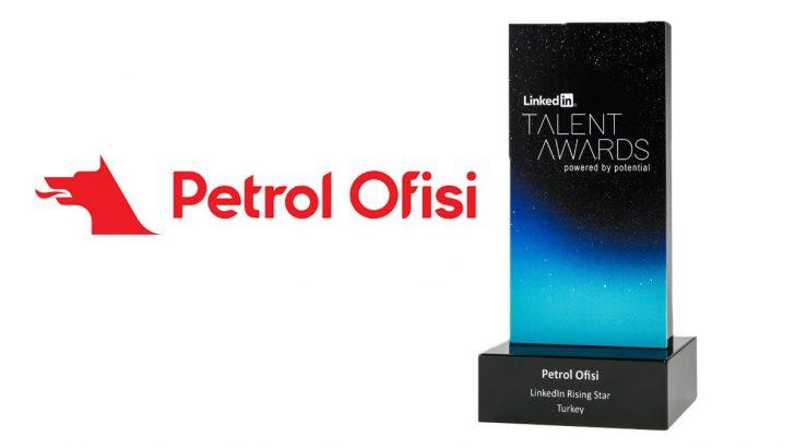 Petrol Ofisi'ne 'LinkedIn Rising Star' Ödülü Verildi