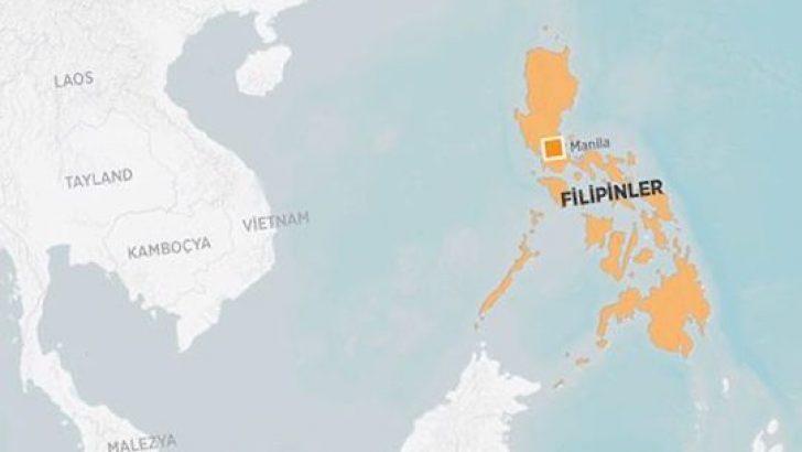 Deprem Filipinleri vurdu