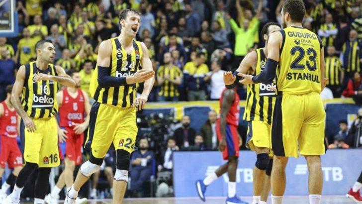 Euroleague'de Fenerbahçe Saltanatı