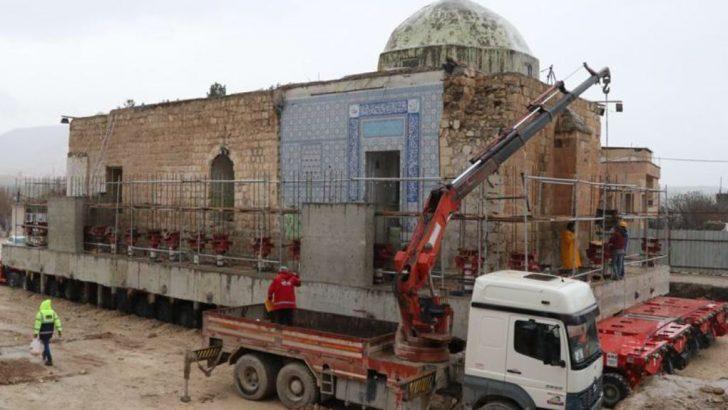 Eyyubi Camisinin son bölümü taşınıyor