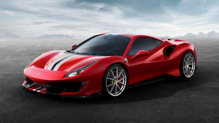 Yılın Süper Otomobili Ferrari 488 Pista!