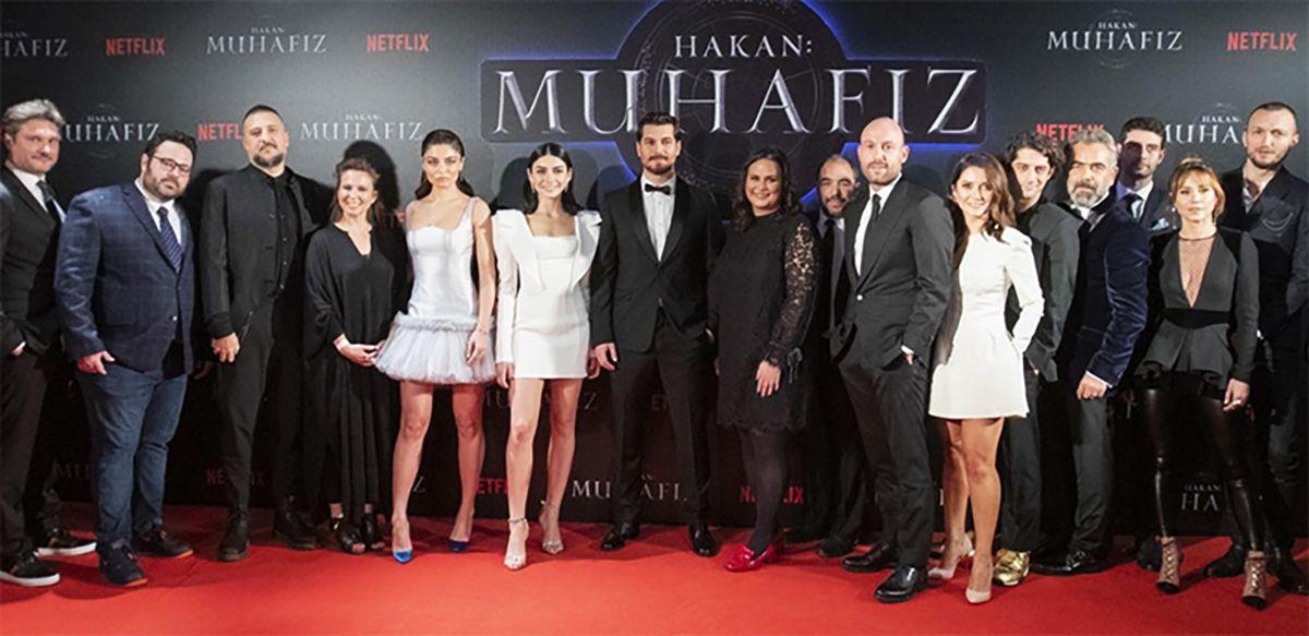 """Netflix'in İlk Orijinal Türk Dizisi """"Hakan: Muhafız"""""""