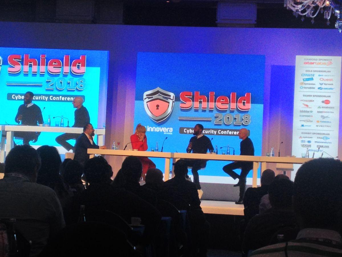 """Dünyaca ünlü hacker'lar ve siber güvenlik uzmanları """"Shield2018""""de buluştu"""