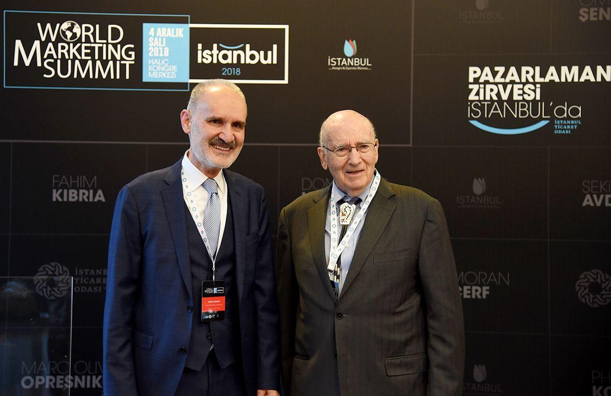 Pazarlamanın babası Profesör Kotler'dan girişimcilere İstanbul'dan önemli tüyolar