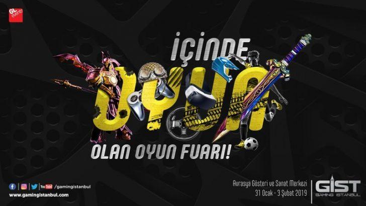 Dijital Eğlence ve Oyun Fuarı Gaming İstanbul Başlıyor