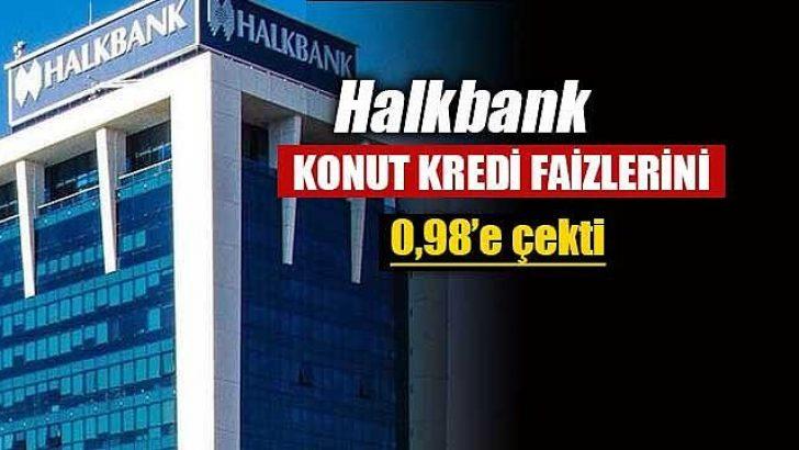 Halkbank'tan Konut Kredisi isteyenlere Müjde