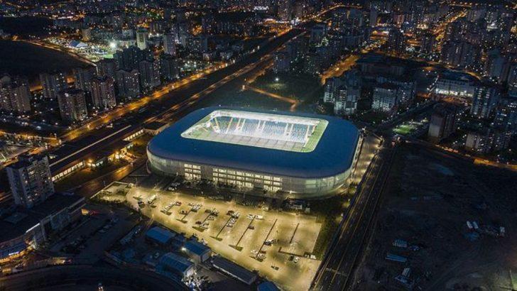 Ankara'da Stadına Kavuştu