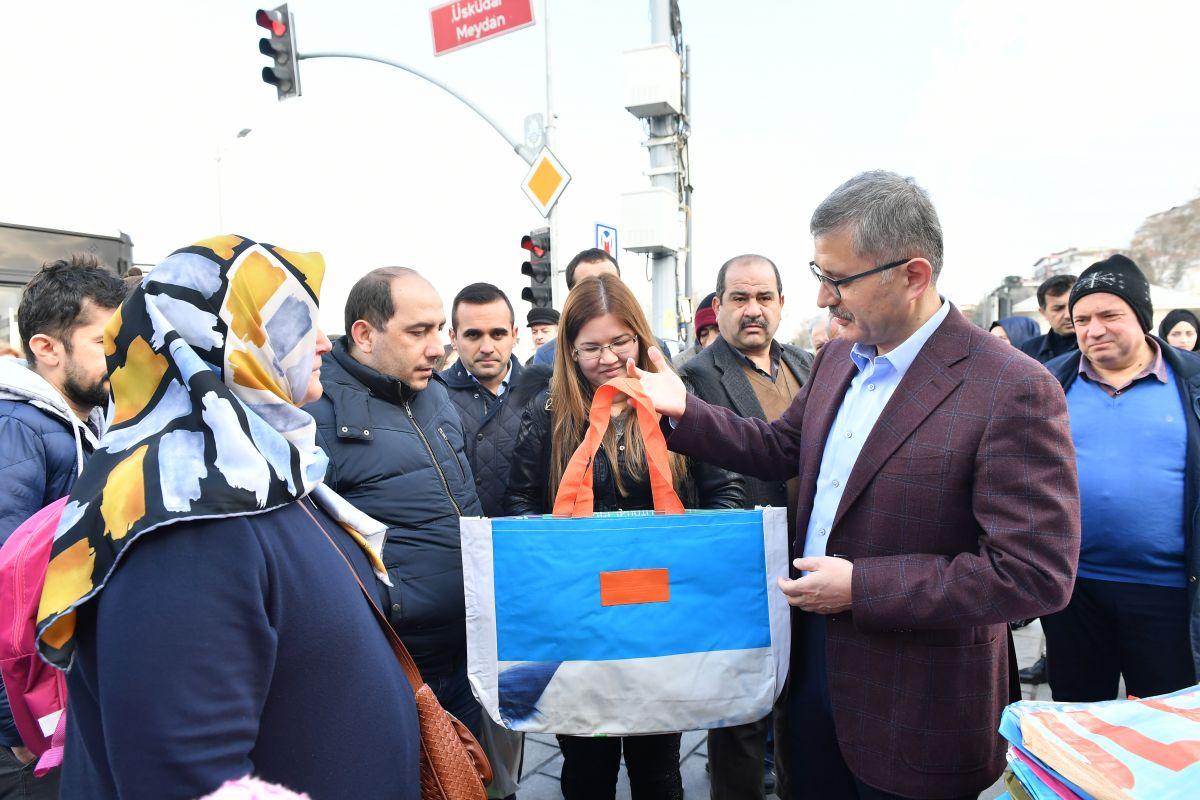 Üsküdar Belediyesinde örnek geri dönüşüm seferberliği başladı!