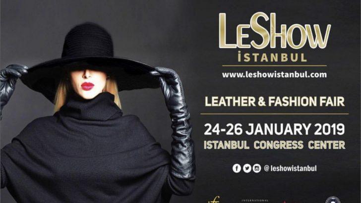 LeShow Deri ve Moda Rüzgarı İstanbul'da!