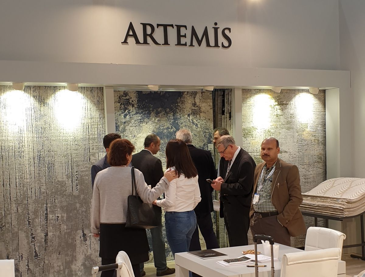 Artemis Halı Domotex Hannover 2019'da Büyük İlgi Gördü