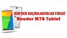 BİM'den Kaçırılmayacak Fırsat, Reeders M7S Tablet