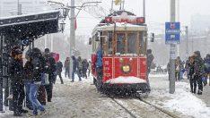 İSTANBUL'DA KAR YAĞIŞI