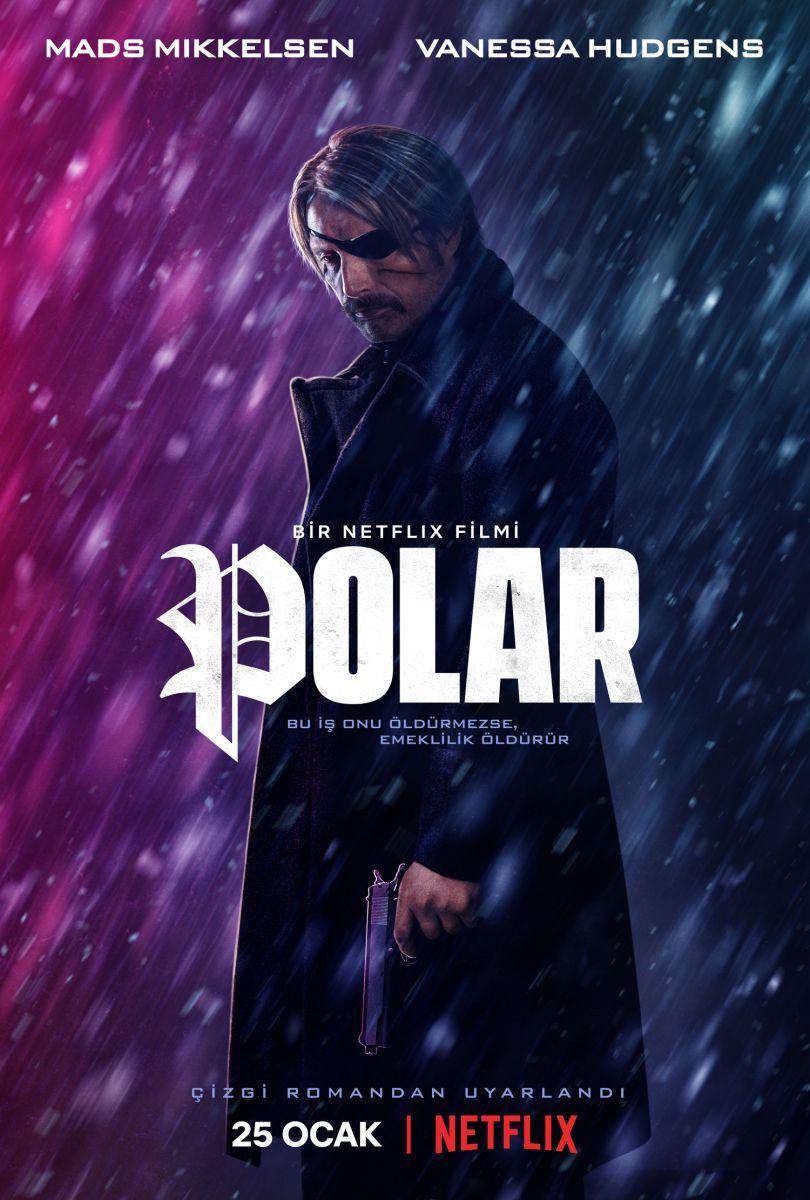 Netflix Orijinal Filmi Polar 25 Ocak'ta yayında