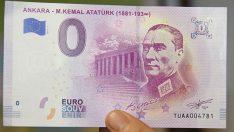 "Atatürk portreli ""Euro"""