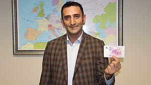 Atatürk portreli Euro