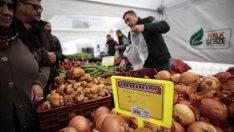 Tanzim Satış'da 300 Ton Sebze Satıldı
