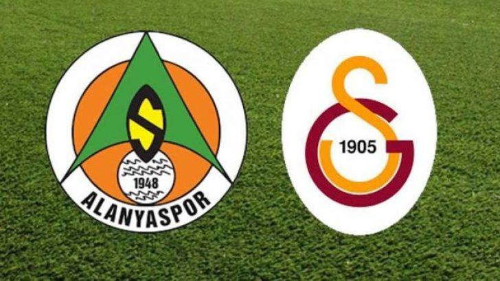 Alanyaspor-Galatasaray