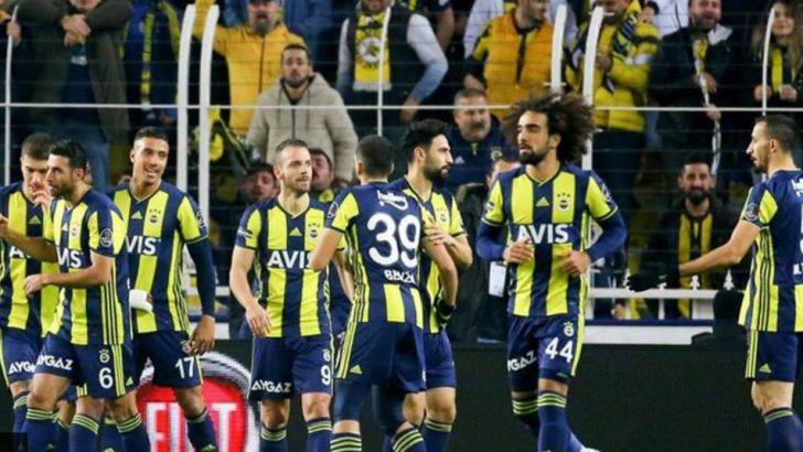 Fenerbahçe Toparlanıyor