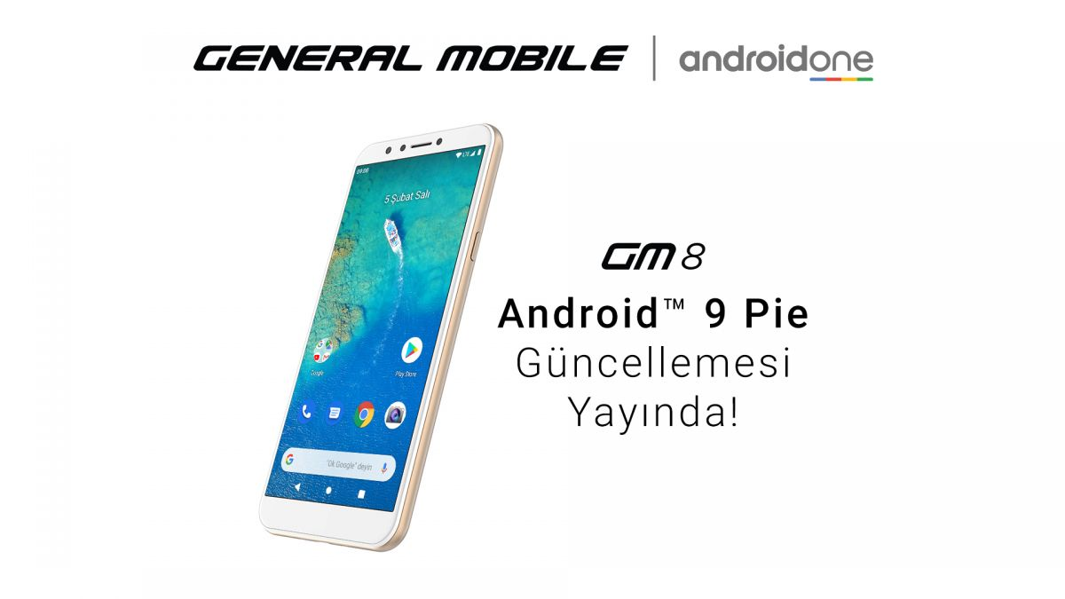 GM 8'e Android 9 Pie Güncellemesi