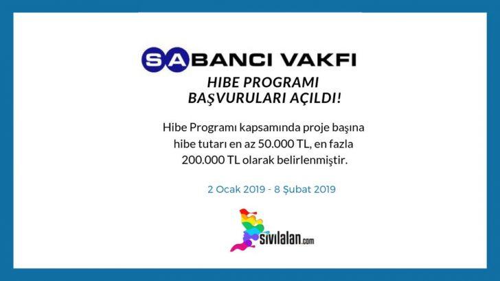 Hibe Programı için 2019 yılı başvurularında son hafta