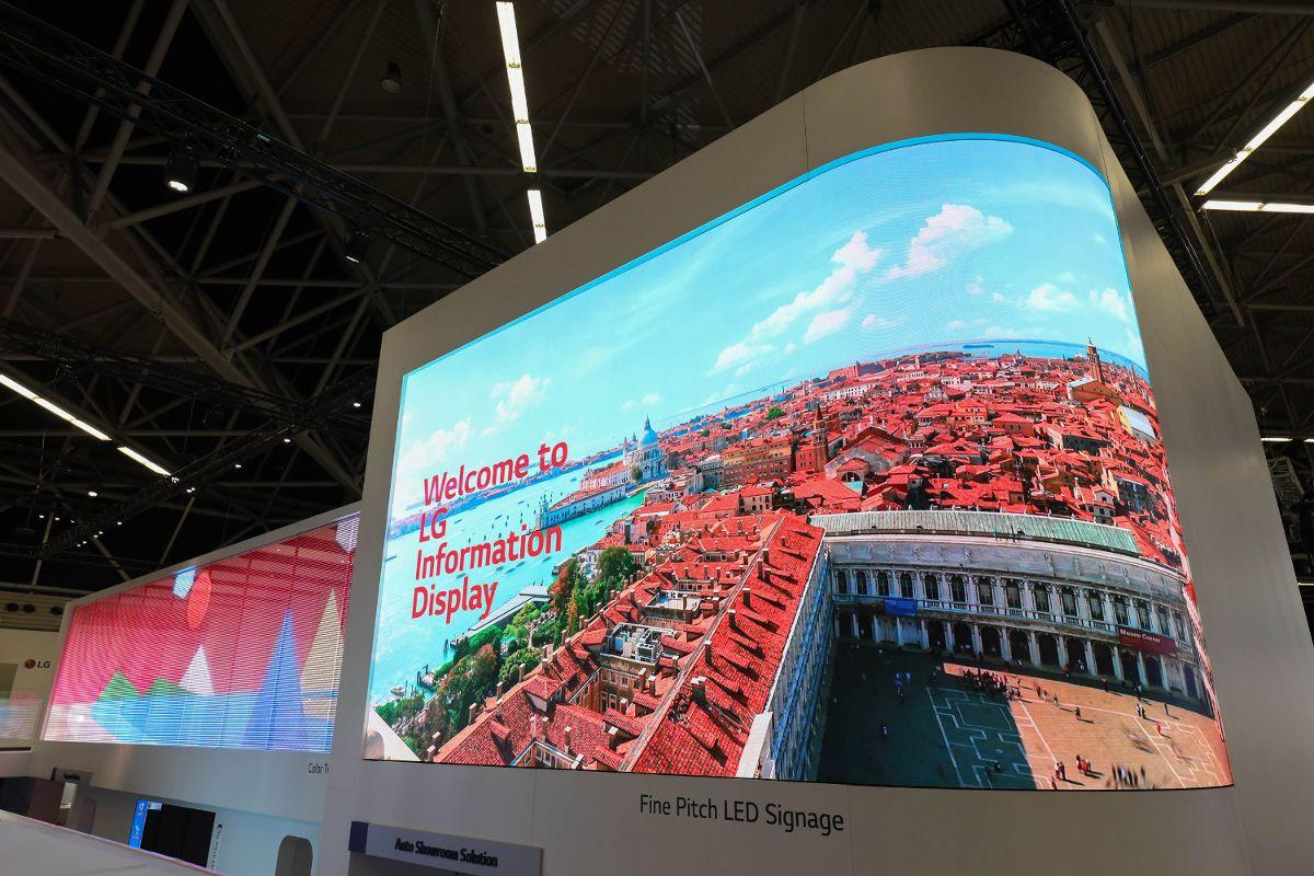 LG, ISE 2019'da Üstün Bilgi Ekranı Çözümlerini Sergiliyor