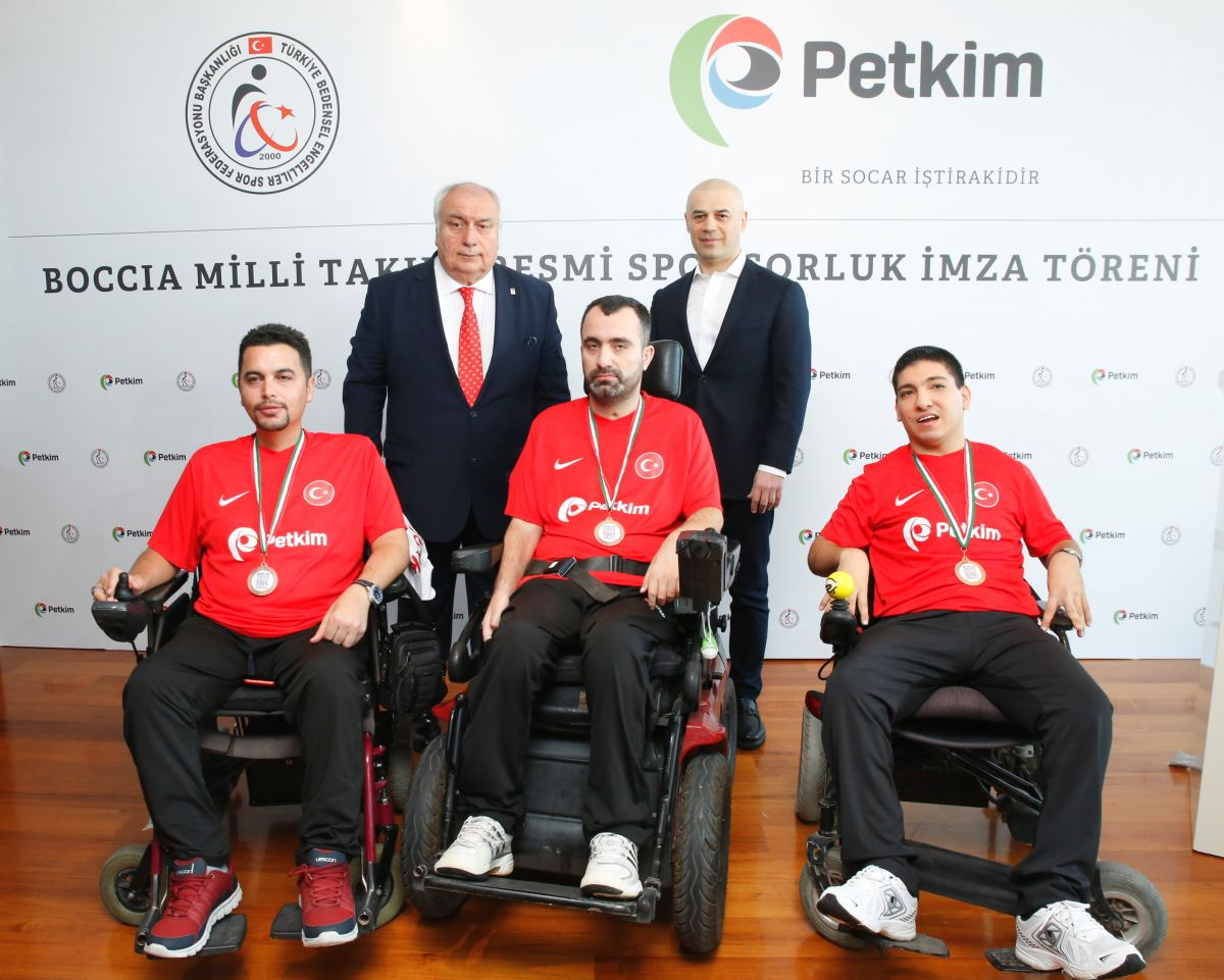 Petkim'den Boccia Milli Takımına tam destek!.