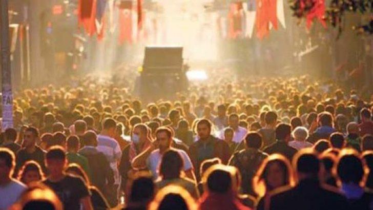Türkiye'nin nüfusu açıklandı! Kilometrekareye düşen kişi sayısı arttı!