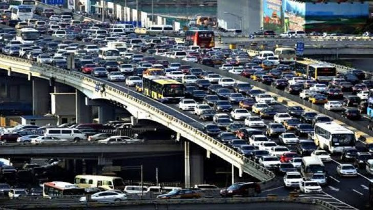 İstanbul Trafik Sıkışıklığında İkinci Sırada..