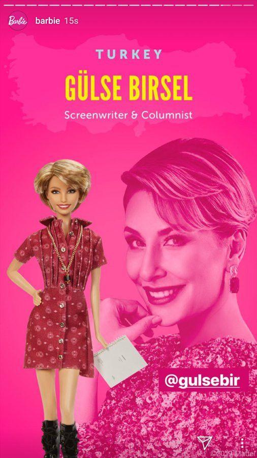 Barbie'nin yeni serisinde başarılı Türk kadını Gülse Birsel yer alıyor!