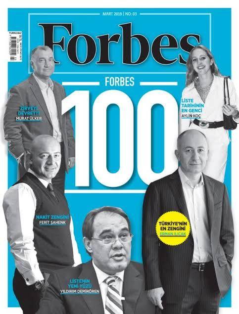 Forbes açıkladı, Türkiye'nin en zengin isimleri!