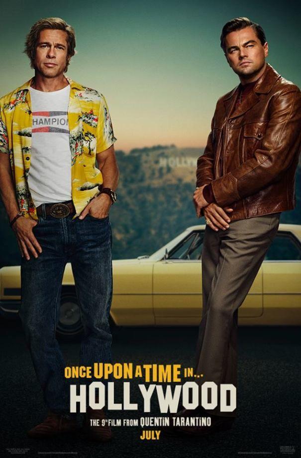 Brad Pitt ve Leonardo Dicaprio'nun Filminden ilk Poster yayınlandı!