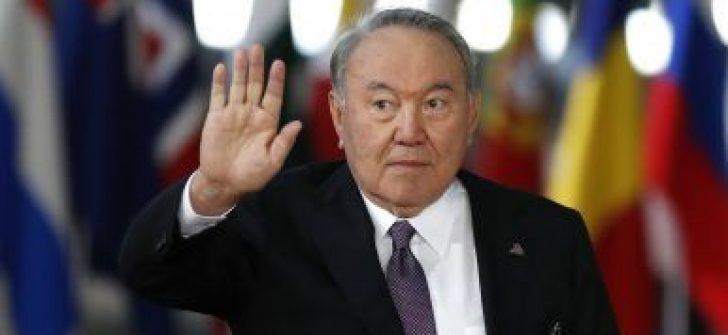 Kazakistan'ın 28 yıllık Devlet Başkanı Nursultan Nazarbayev istifa etti