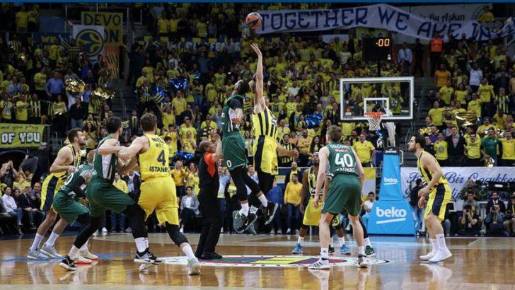 Fenerbahçe Beko Ezip Geçiyor 76-43