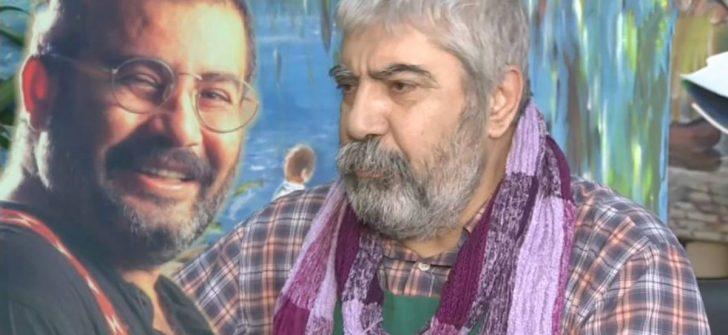 """Ahmet Kaya'nın yarım kalan resmi """"hüzün dolu gözlerini çizmeye yüreğim el vermiyor"""""""