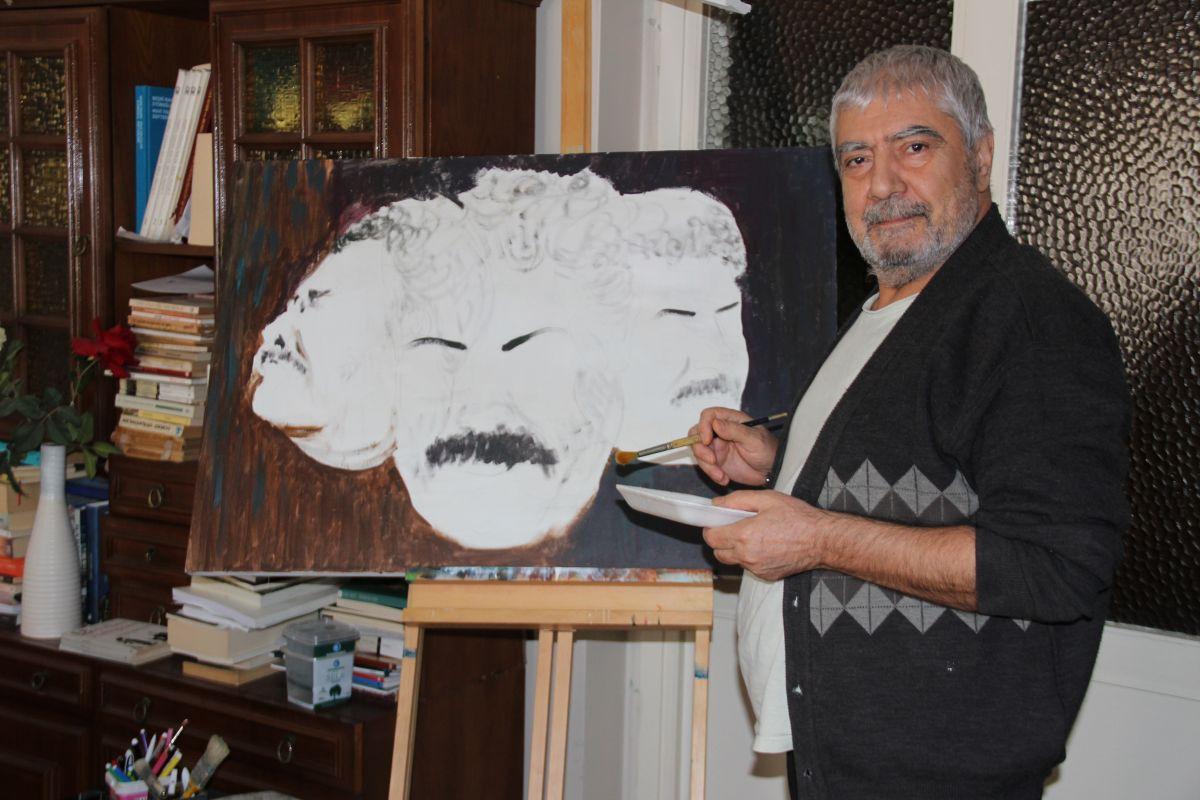 Ahmet Kaya'nın yarım kalan resmi