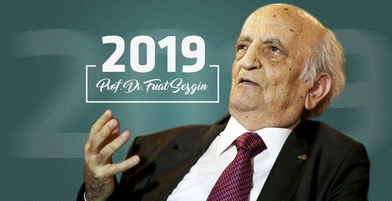 "PTT'den 2019 Prof.Dr. Fuat Sezgin Yılı"" konulu anma pulu"