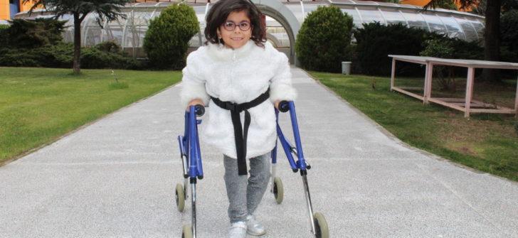 """Cerebral Palsy'li Çocuklardan Milyonlara Çağrı """"Desteğinle Yapabiliriz"""""""