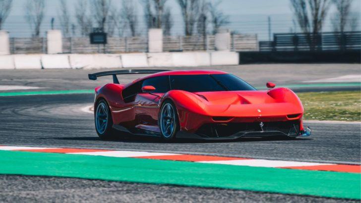 """Bugüne Kadar Üretilen En Özel Ferrari """"P80/C"""""""