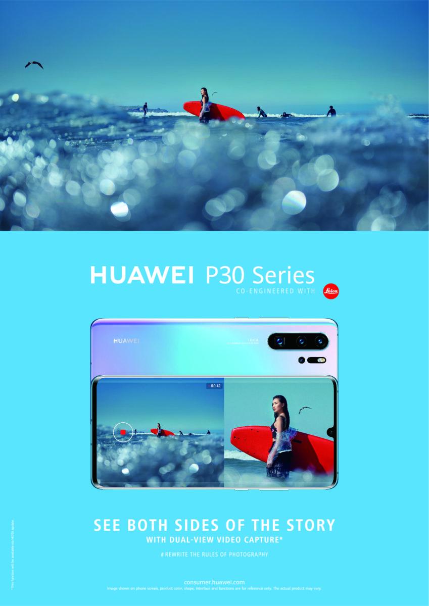 Huawei P30 ve P30 Pro'ya Çift Görüşlü Video Modu Güncellemesi