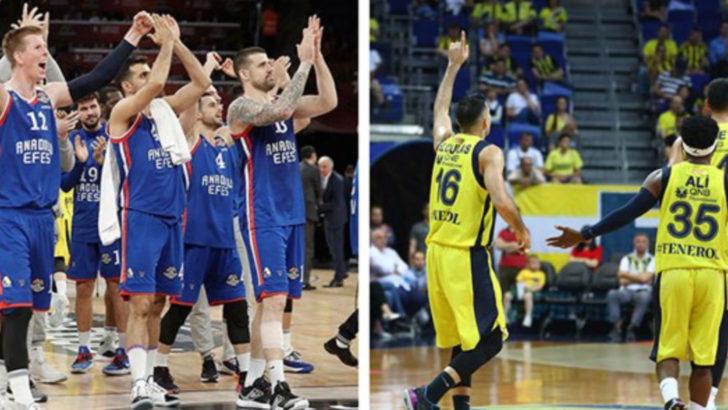 Anadolu Efes-Fenerbahçe Serisi Başlıyor