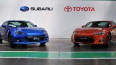 Japon devleri birleşiyor!Toyota ve Subaru'dan iş birliği