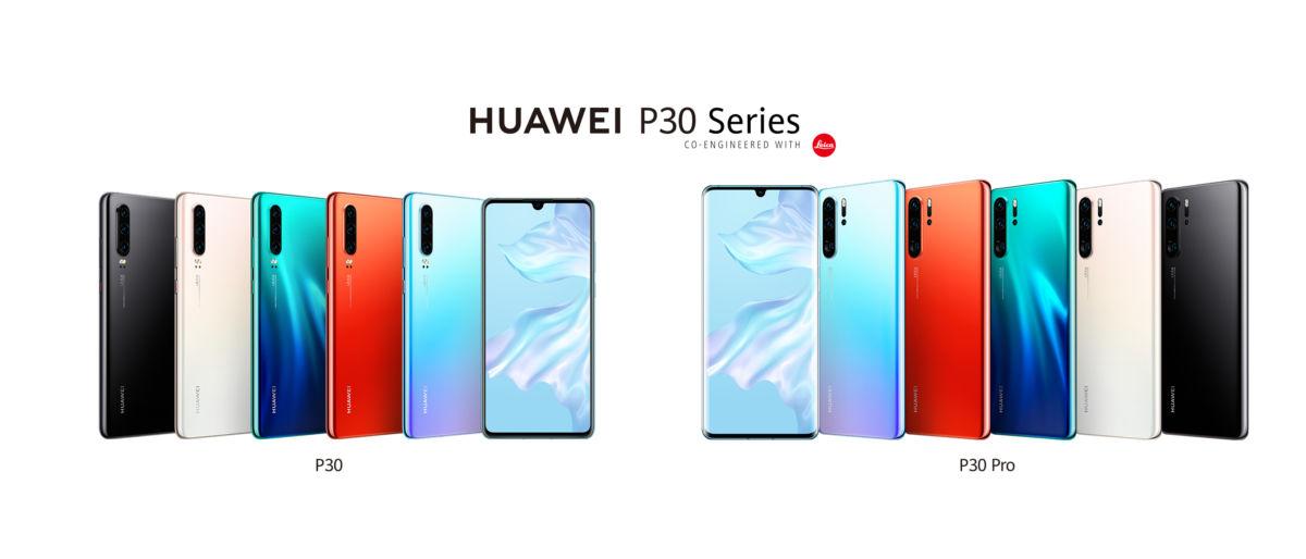 Huawei P30 Serisi Rekor Sürede 10 Milyon Satış Barajını Geçti