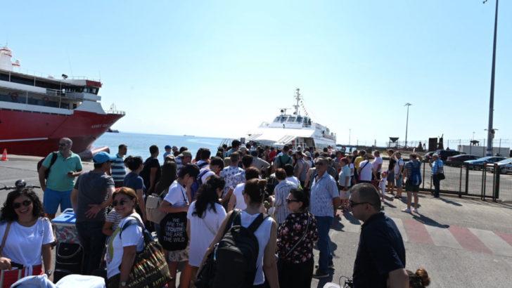 İDO, Tekirdağ Marmara Adası Avşa Adası hattı seferlerine başladı
