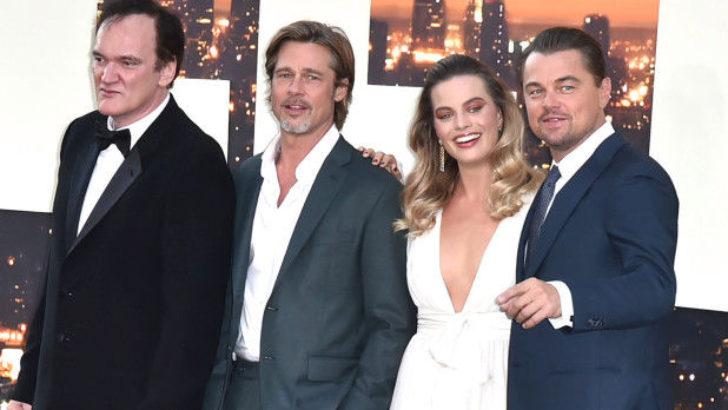 Tarantino'nun yeni filmi Bir Zamanlar… Hollywood'da Film Galasında Ünlüler Geçidi!