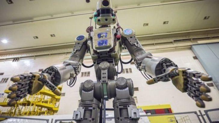 İnsansı robot 'Fedor' Uluslararası Uzay İstasyonunda