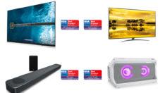 LG'nin AI Uyumlu TV ve SES Ürünleri EISA Ödülleri'ne Damga Vurdu