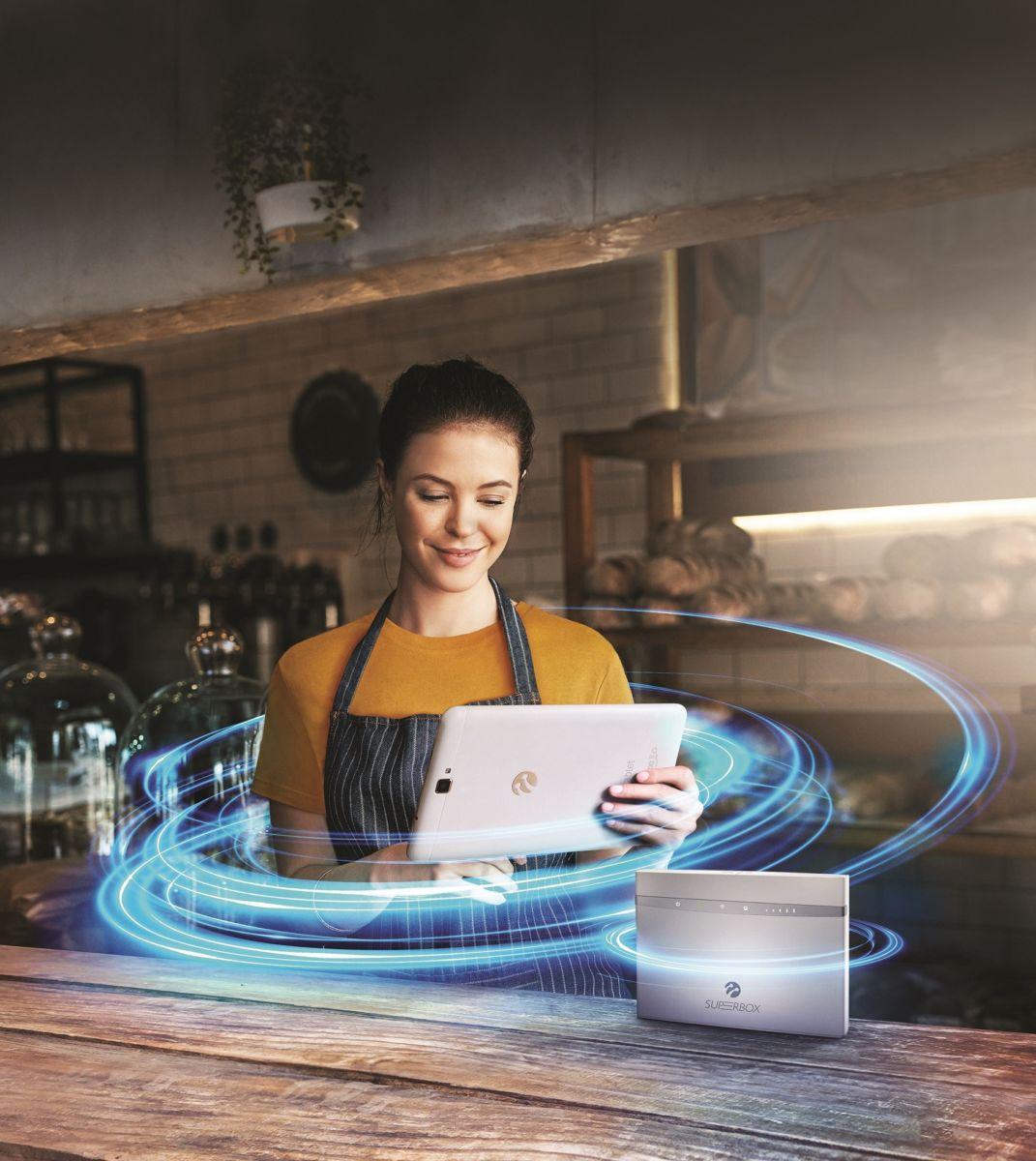 Superbox ile fiber hızında ev interneti her yerde